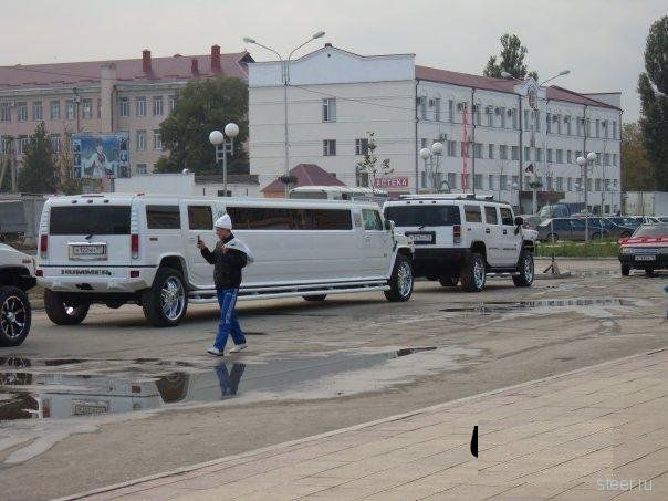 Автопарк Рамзана Кадырова (фото)