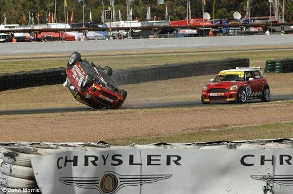 Чем опасны наблюдения за гонками (фото)