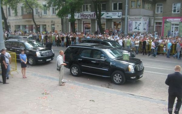 На чем ездил по Одессе Святейший Патриарх Московский (фото)