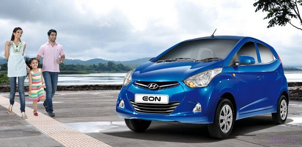 Hyundai представил бюджетный супер-компакт Eon: $5500 за базовую версию (фото)