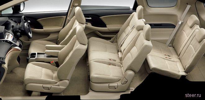 Honda представила рестайлинговую версию минивэна Odyssey в Японии (фото)