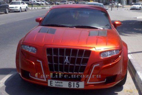 Audi TT - арабский стайлинг.