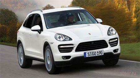 Первая информация о новом Porsche Cayenne (фото)