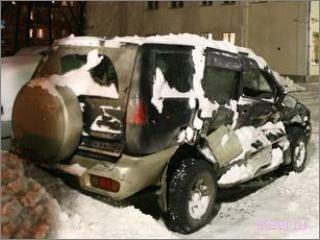 Найден автомобиль, за который убили снегоуборщика (фото)