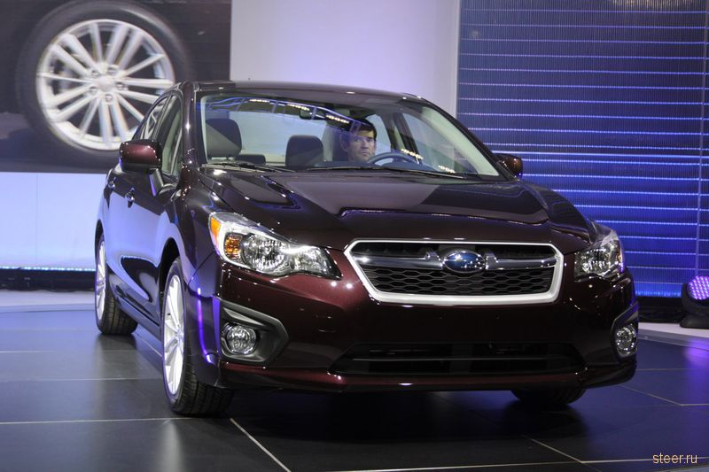 Новая Subaru Impreza официально представлена в Нью-Йорке (фото)