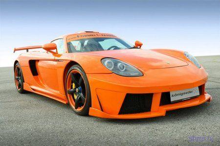 Тюнингеры из Koenigseder выпустили кит для Porsche Carrera GT (фото)