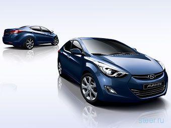 Первое изображение интерьера новой Hyundai Elantra (фото)