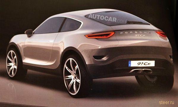 Обнародованы первые изображения Porsche Cajun (фото)