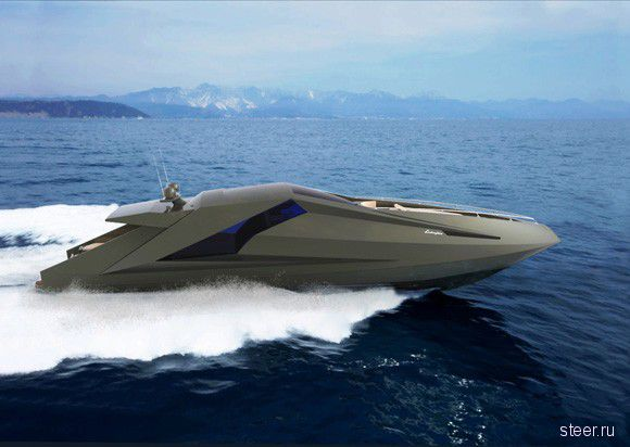 Яхта Ламборджини (фото)