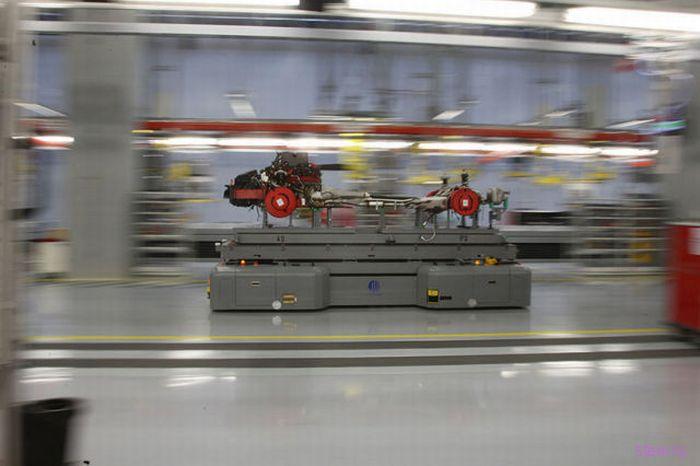 завод сборки моделей Ferrari