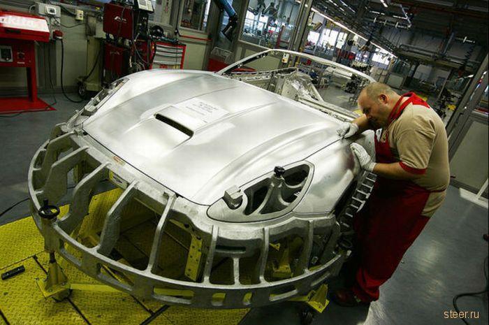 кузов каркаса модели Ferrari