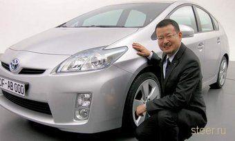Автомобили марки Toyota станут похожими на Prius третьего поколения