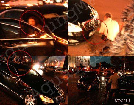 Mercedes c мигалкой, спровоцировавший ДТП на Тверской улице, принадлежит краснодарскому губернатору (фото)