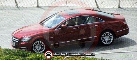 Новый Mercedes-Benz CLS без камуфляжа (фото)