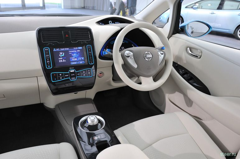 Серийный электрокар Nissan Leaf покажут широкой публике (фото)
