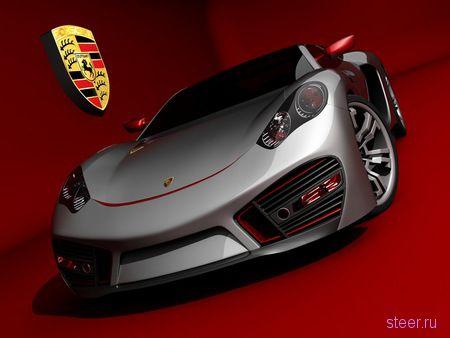Концептуальное спорткупе Porsche от независимого дизайнера (фото)
