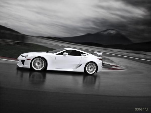 Все подробности о первом суперкаре Lexus: 560 л.с., 375 тыс. долларов (фото)