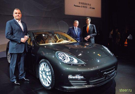 Официальная премьера Porsche Panamera продведена в Китае (фото)