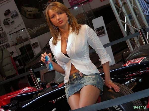 Девушки и авто (пятничная подборка фото)