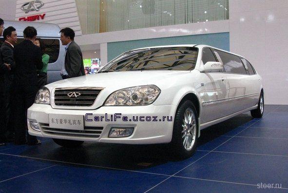 Новый китайский лимузин от Chery (фото)
