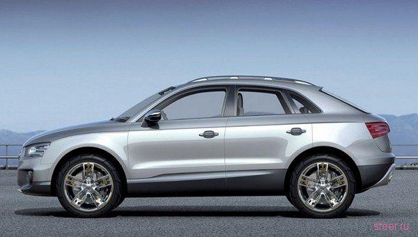 Audi готовит малыша Q3 (фото)