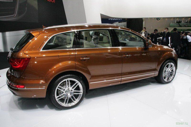 Шанхайская премьера обновленного Audi Q7 (фото)