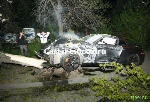 В Румынии разбили Nissan GT-R (фото)