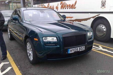 Шпионские фото Rolls-Royce Ghost 2010 модельного года (фото)