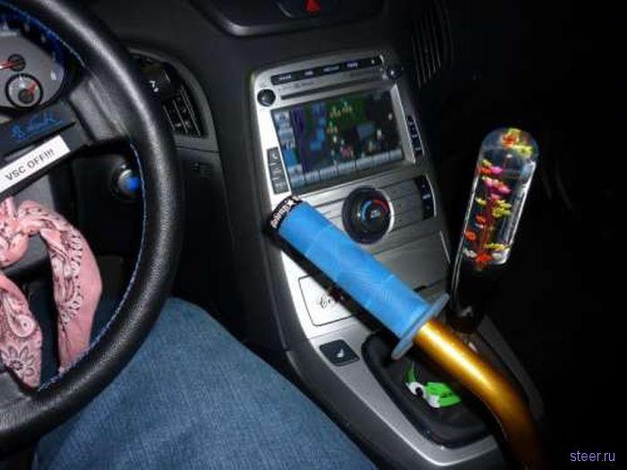 Тюнинг ручки переключения передач (фото)