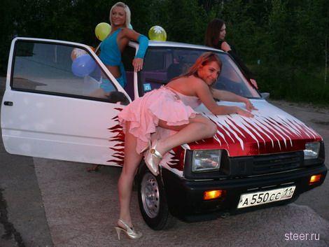 В Сыктывкаре испытали «Оку» на вместимость: влезли 15 человек (фото)