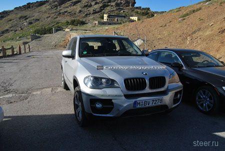 Новый BMW X5 засняли папарацци (фото)
