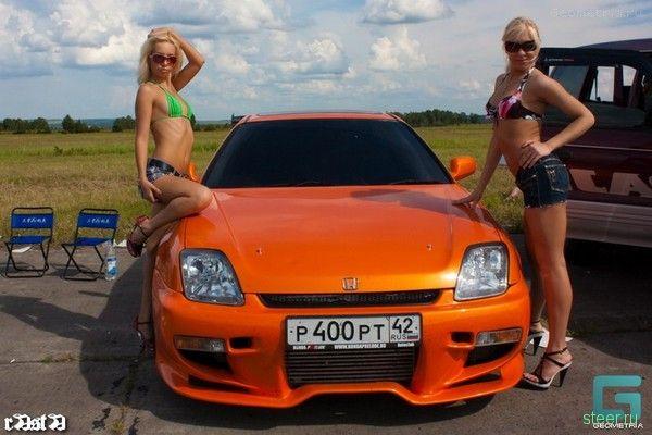 Кузнецкая Жара 2009. В Кемеровской области прошли масштабные соревнования по драг-рейсингу (фото и видео)