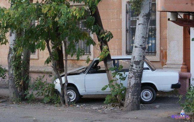 Плотная парковка по-астрахански (фото)