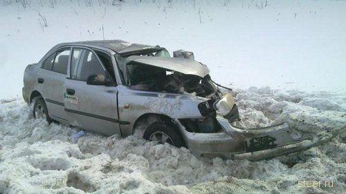 Автокатастрофа на трассе М6