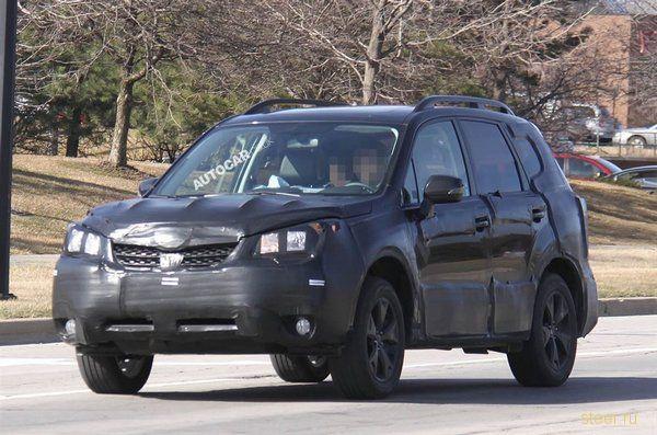 Subaru тестирует прототип Forester нового поколения (фото)