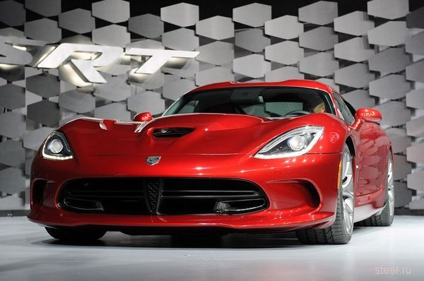 Dodge Viper 2013 : Dodge представил новое поколение супер-кара Viper с 640-сильным мотором (фото)