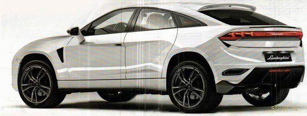 Внедорожник Lamborghini : первые изображения (фото)