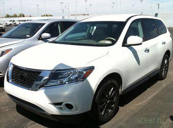 Новое поколение Nissan Pathfinder : первые фото (фото)