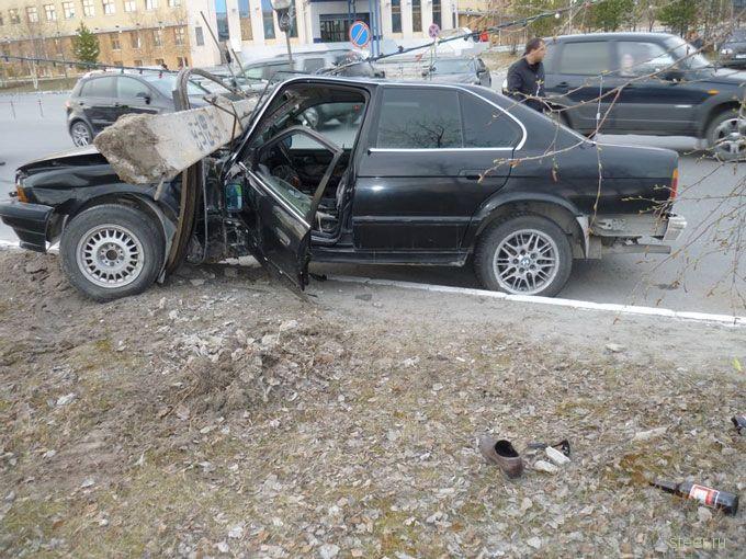 Как умирают BMW (фото и видео)
