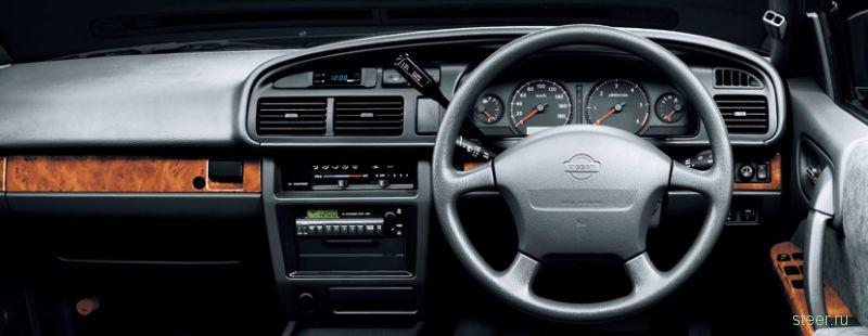 С 1991 года без изменений! В Японии выпустили «обновлённый» седан Nissan Cedric (фото)