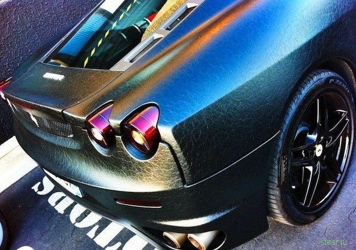 Ferrari F430 обтянули кожей (фото)