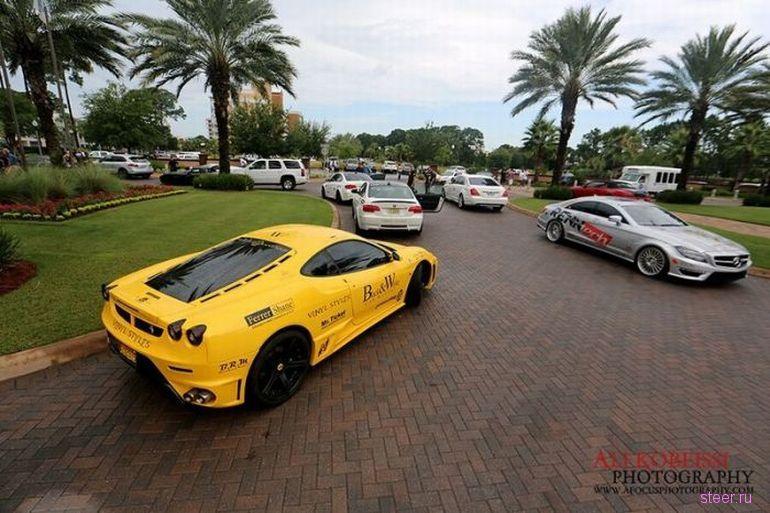 GoldRush Rally 4 - знаменитый пробег на эксклюзивных суперкарах (фото)