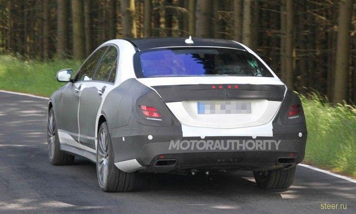 Флагман Mercedes-Benz – взгляд изнутри (фото)