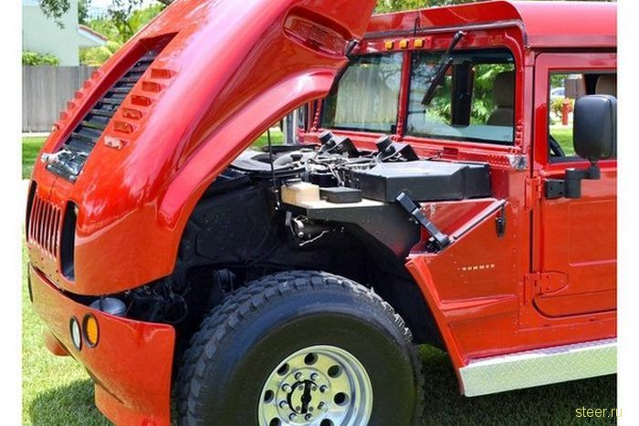 Тюнинг Hummer H1 (фото)