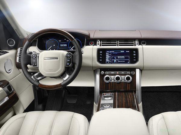 Официально представлен новый Range Rover (фото)