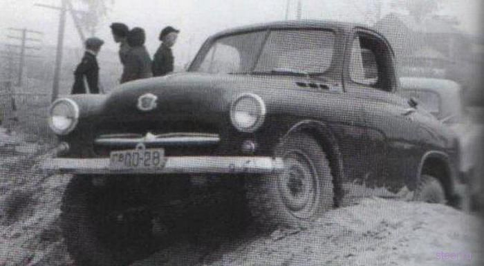 ГАЗ-М73 : Советский внедорожник (фото)
