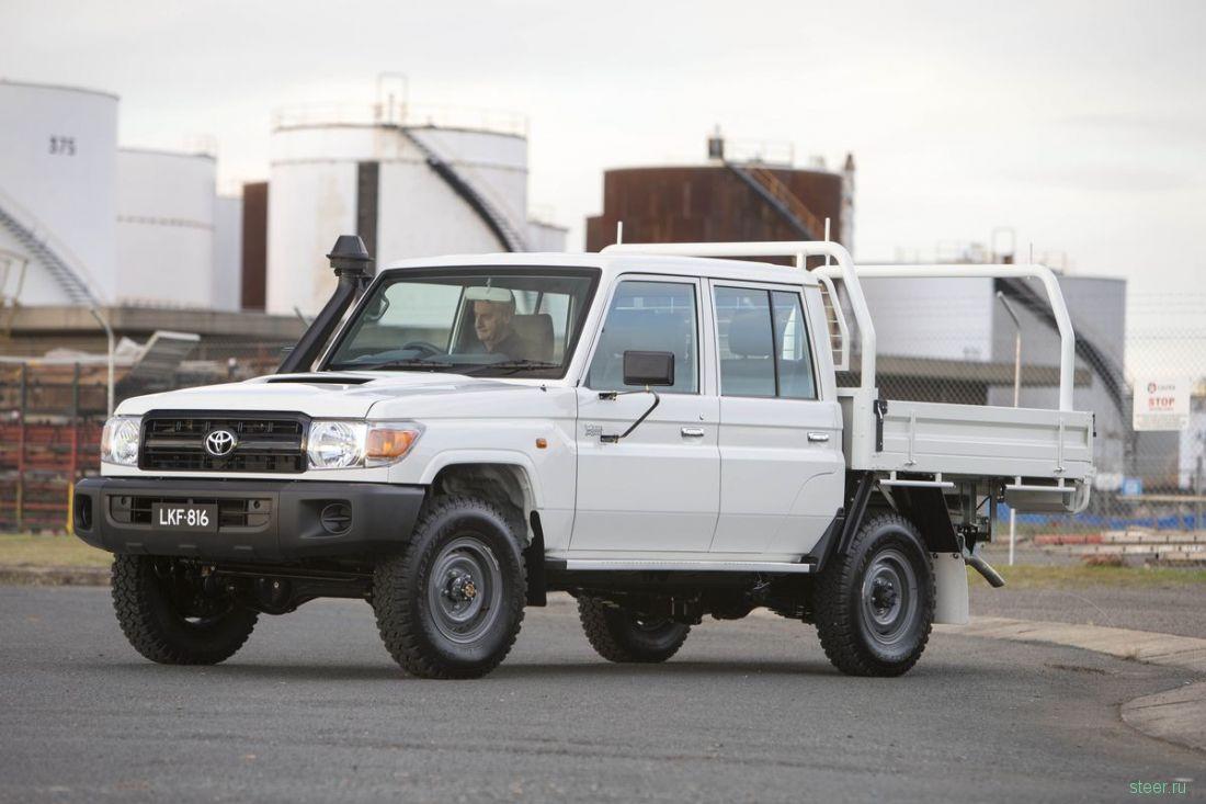 Австралийская Toyota начала продажи 4-дверного грузовичка Land Cruiser (фото)