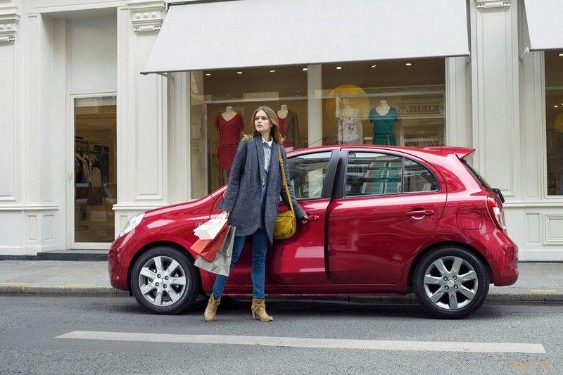 Nissan выпустил ограниченную серию хэтчей Micra для модных дам (фото)