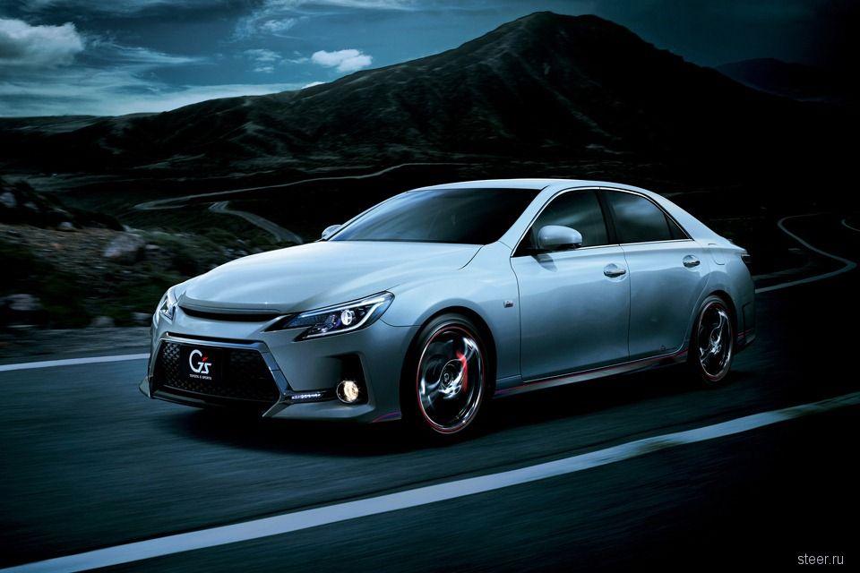 Toyota обновила седан Mark X и выпустила его спорт-версию (фото)