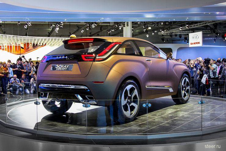 Новый внедорожник Lada — главная сенсация Московского автосалона (фото)